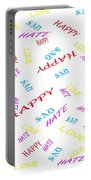 Quoted Emotions Portable Battery Charger