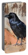 Quoth The Raven Portable Battery Charger