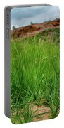 Rabbit In The Grass Portable Battery Charger