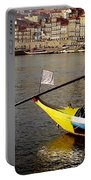 Rabelo Boats On River Douro In Porto 03 Portable Battery Charger