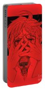 Rabid Breathing Red Variant Portable Battery Charger