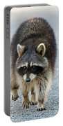 Raccoon On The Prowl Portable Battery Charger