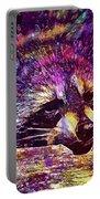Raccoon Wild Animal Furry Mammal  Portable Battery Charger