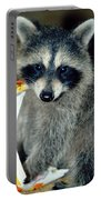 Raccoon1 Snack Bandit Portable Battery Charger
