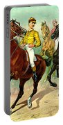 Racehorses 1893 Portable Battery Charger