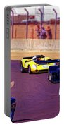 Racing At Laguna Seca Portable Battery Charger