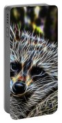 Racoon Fractal Portable Battery Charger