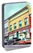 Radford Virginia - Along Main Street Portable Battery Charger