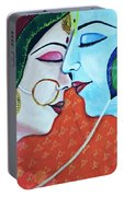 Radha Krishna Portable Battery Charger