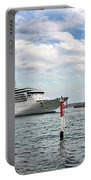 Radiance Of The Seas Passing Opera House Portable Battery Charger