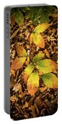 Radiant Beech Leaf Branches Portable Battery Charger