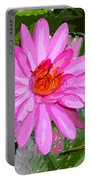 Radiant Pink Portable Battery Charger