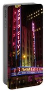 Radio City Music Hall Portable Battery Charger