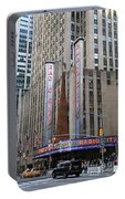 Radio City Music Hall New York City Portable Battery Charger