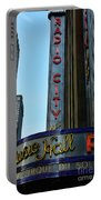 Radio City Music Hall Portable Battery Charger by Paul Ward