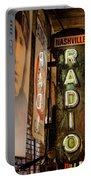 Radio Nashville Sign Portable Battery Charger