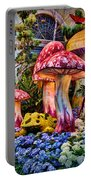 Radioactive Mushrooms Portable Battery Charger
