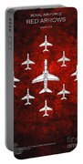 Raf Red Arrows Hawk T1 Portable Battery Charger