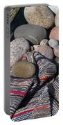 Rag Rugs With Stones And The Dock 3 Portable Battery Charger