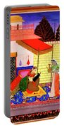Ragamala Painting Portable Battery Charger