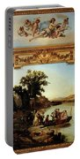 Rahoult Charles Diodore Allegory Of Spring Portable Battery Charger