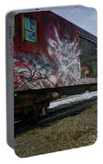 Railcar Graffiti Portable Battery Charger