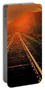 Railroad  Surreal Perspective IIi Portable Battery Charger