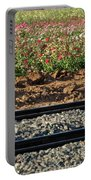 Rails And Roses Portable Battery Charger