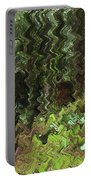 Rain Forest Abstract Portable Battery Charger
