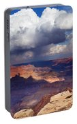 Rain Over The Grand Canyon Portable Battery Charger