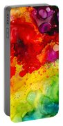 Rainbow Bubbles Portable Battery Charger