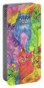 Rainbow Cats 2017 07 01 Portable Battery Charger