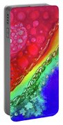 Rainbow Coaster  Portable Battery Charger