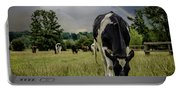 Rainbow Cow Portable Battery Charger
