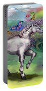 Rainbow Faeries And Unicorn Portable Battery Charger