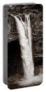 Rainbow Falls 2 - Sepia Portable Battery Charger