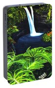 Rainbow Falls #83 Portable Battery Charger