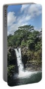Rainbow Falls Hawaii Portable Battery Charger