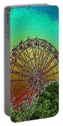 Rainbow Ferris Wheel Portable Battery Charger