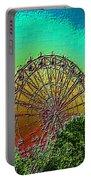 Rainbow Ferris Wheel Portable Battery Charger