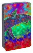 Rainbow Hammerhead Shark Portable Battery Charger