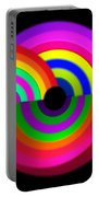 Rainbow In 3d Portable Battery Charger