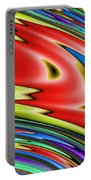 Rainbow In Abstract 04 Portable Battery Charger