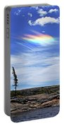 Rainbow In The Clouds Portable Battery Charger
