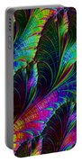 Rainbow Leaves Portable Battery Charger