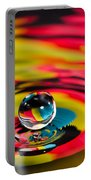 Rainbow Marble Water Drop Portable Battery Charger