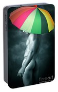 Rainbow Mike  Portable Battery Charger