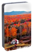 Rainbow Of Autumn Colors Portable Battery Charger