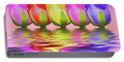 Rainbow Of Roses II Portable Battery Charger