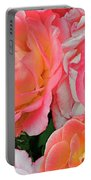 Rainbow Of Roses Portable Battery Charger